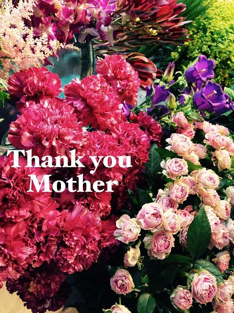 母の日のお花のご注文